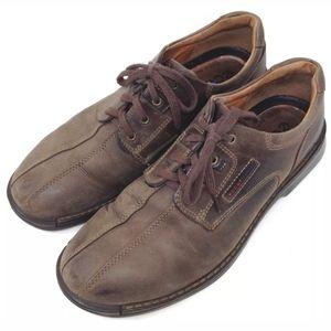 Ecco Light Men's Shoes Brown Leather 13